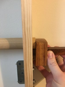 Mounting & Assembly of the Wall-Mounted Ladder