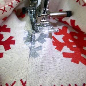 Make Drawstring Openings