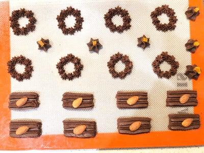 Making Cookie #3 Chocolate Cookie