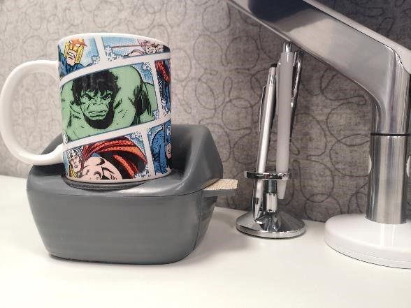 Picture of A Simple Mug Holder Will Just Not Do.