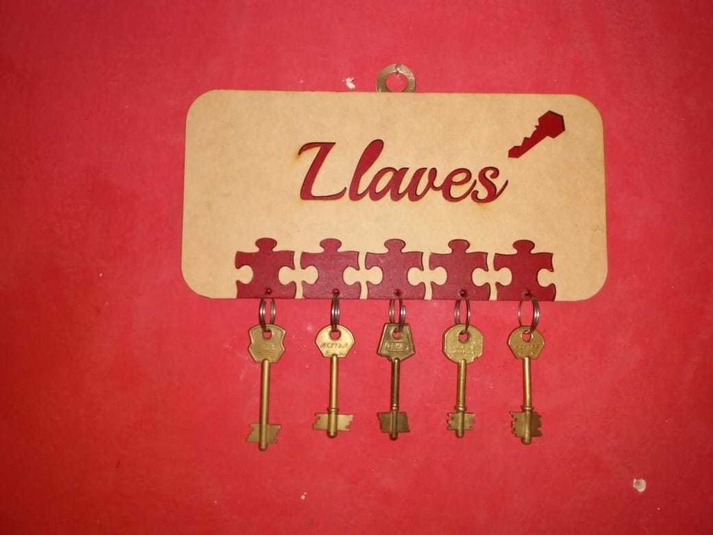 Picture of Porta Llaves Puzzle