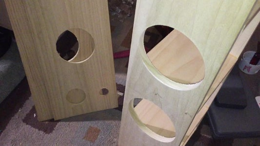 Using My DIY Router Table, I Rounded Over All Cutouts and Edges