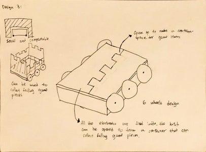 Design 3 - Collection Mechanism