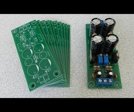 Adjustable Double Output Linear Power Supply