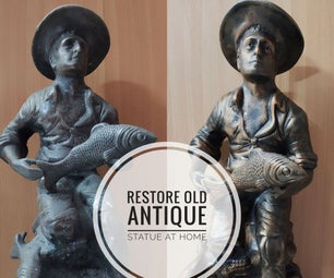 Restore Old Statues at Home