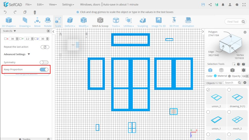 Picture of Prepare the Windows for Printing