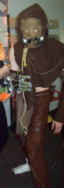 Picture of Batman: Arkham Asylum Scarecrow Halloween Costume