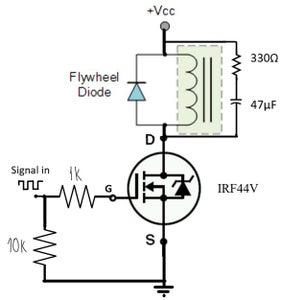 构建I/O板(电磁阀控制)