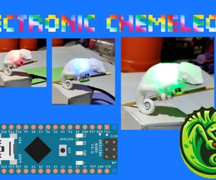 COLOUR CHANGING ELECTRONIC CHAMELEON