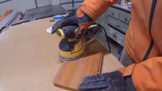 Sanding (and Possibly Re-sawing)