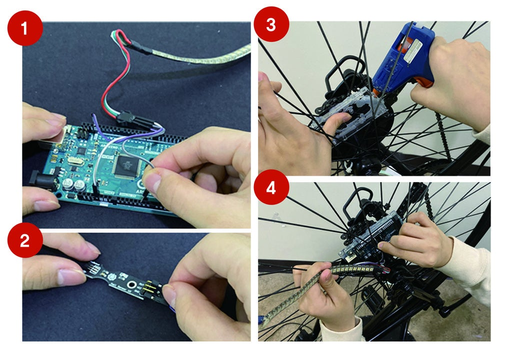Picture of Assembling and Attach to the Wheel