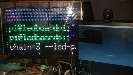 Download, Setup, and Running of RGB LED Panel Needed Libraries