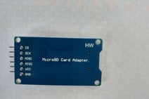 Wire Up the Micro SD Card Adapter and Test