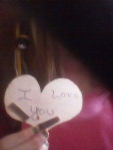 I Love U Magnet
