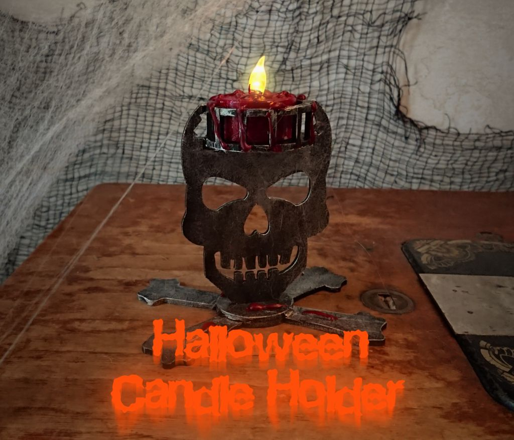Picture of Spooky Candle Holder