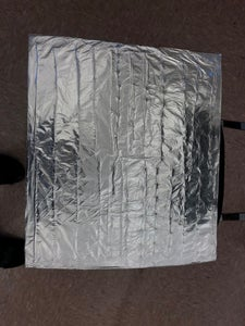 Install Reflective Wrap Around Box, Reflective Divider Across Box.
