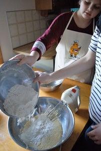Add Vanilla & Flour