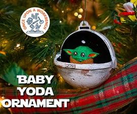 Baby Yoda Ornament