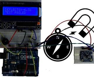 Arduino Milligaussmeter - Magnetic Measurement