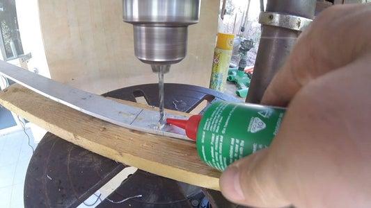Drilling Lower Holes in Aluminum