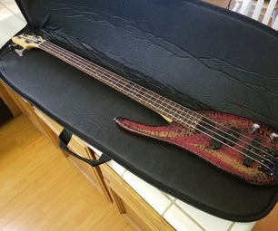 Make a Gig Ready Travel Bass Guitar With Case