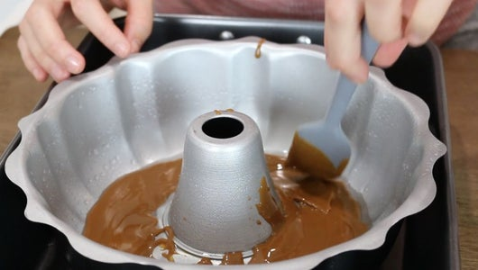 Prepare Bundt Pan