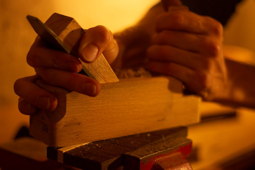 Picture of Preparing Wood for the Lid