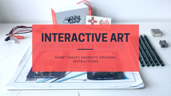 Picture of Makey Makey Graphite Drawing Instructions