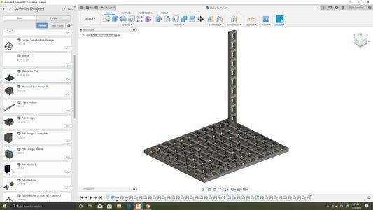 Step 3: the 3D Matrix