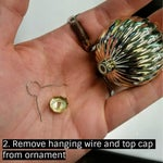 Remove Wire and Cap