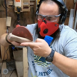 Shaping and Sanding the Handle