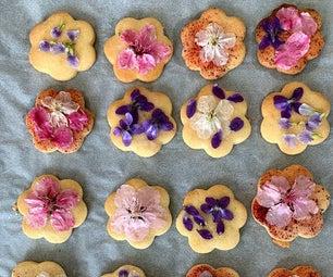 Flower Shortbread Cookies