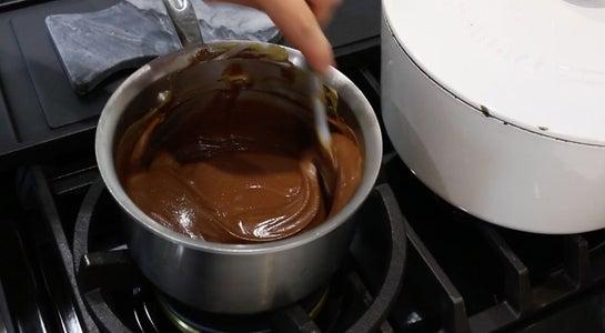 Melt on Stovetop and Add Vanilla