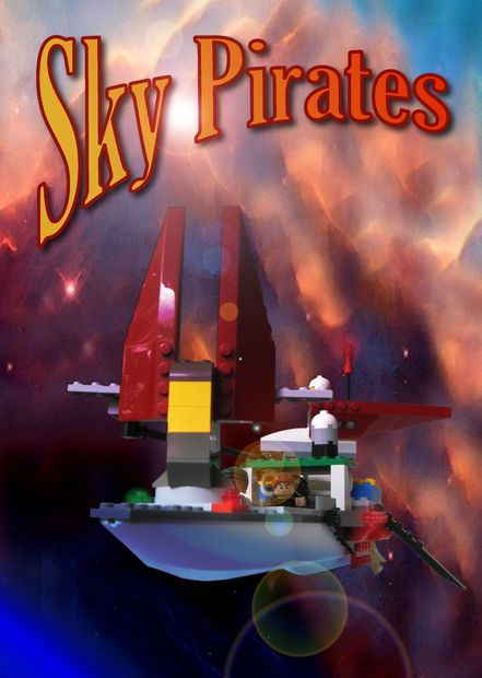 Lego Sky Pirate Skiff.