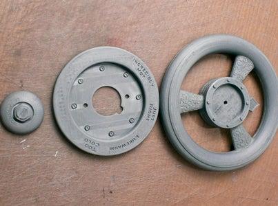 3D打印项目:蒸汽朋克轻按阀门手柄
