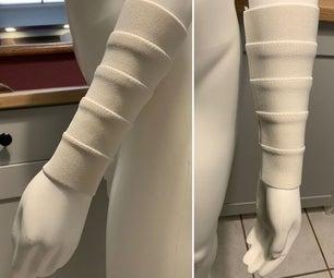 如何使人造手腕裹由弹性