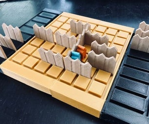 Mini-Quoridor Game