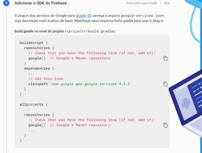 Projeto Android Passo 5 De 8: Configurando Acesso Ao Firebase - Passo 2 De 3