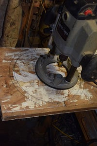 Build and Attach Saw Blade Assembly to the Base.