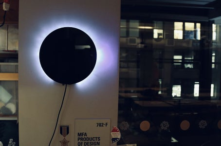 """Speak-up"" Voice Interaction Wall Lamp"