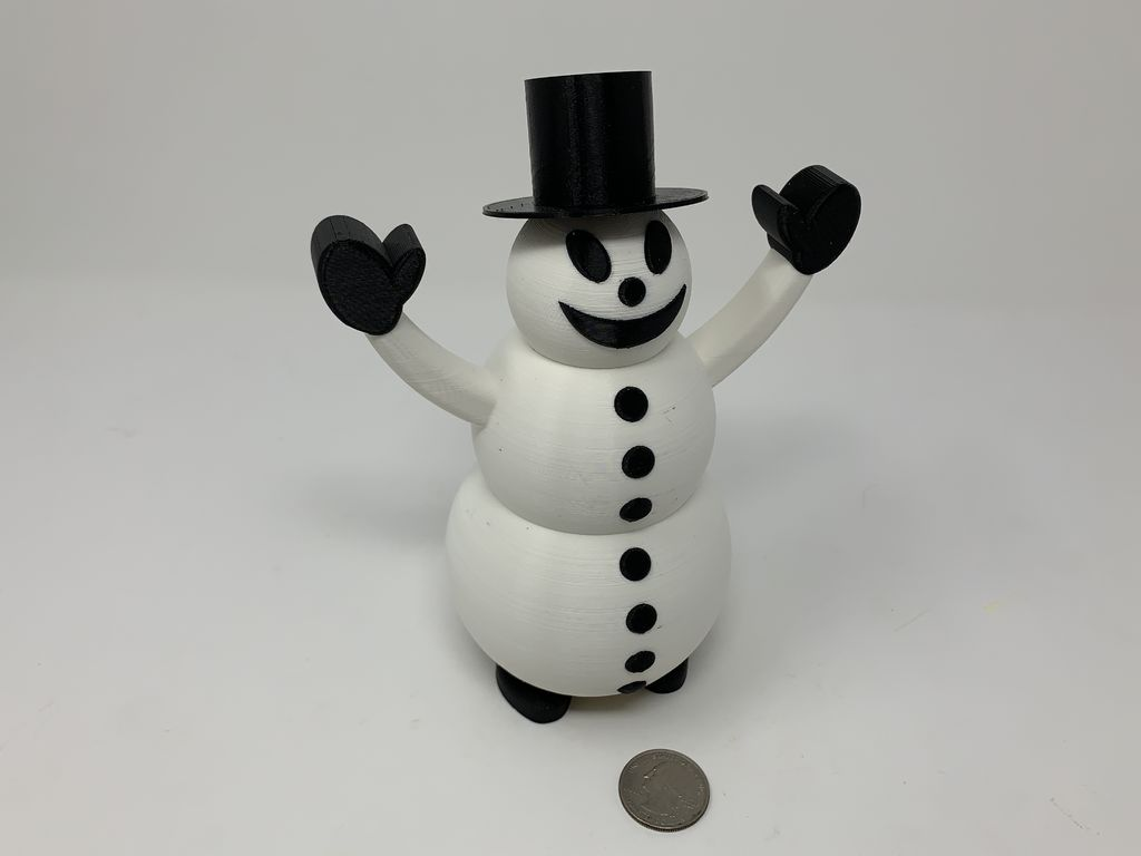 Picture of Snowman Pin Walker