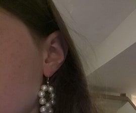 双珍珠耳环