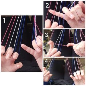 Weave Through String on Left Hand