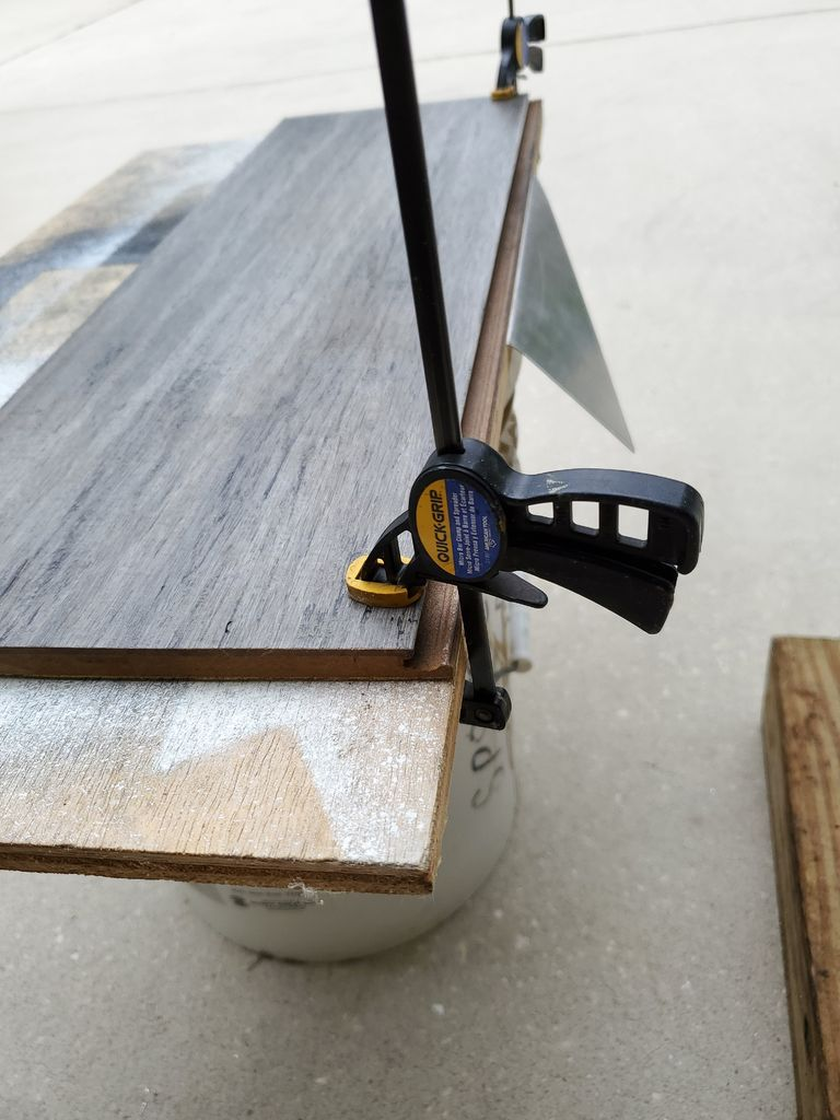 Picture of Folding the Aluminum Triangle