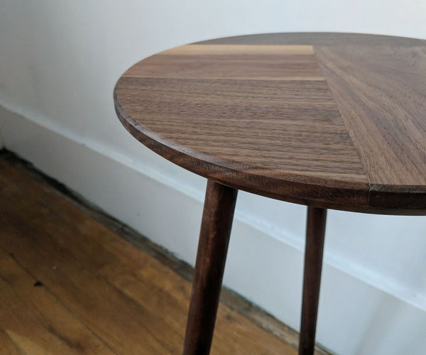 Side Table From Scrap Offcuts