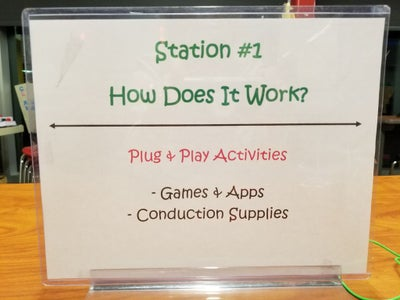 Station #1: How Does It Work?