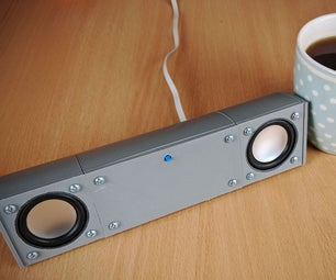 A Modular, USB Powered, Bluetooth Speaker System