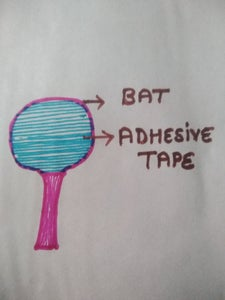 Battery less mosquito catcher Bat