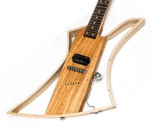 Bent Wood Lamination Electric Guitar