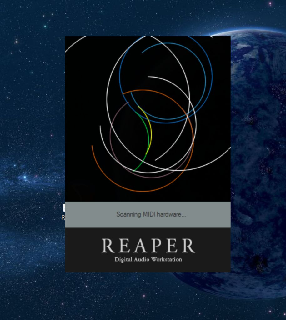 Picture of Double-click on the Application to Launch Reaper.